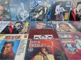 A COLLECTION OF ELVIS PRESLEY LP RECORD SETS ETC., to include Mess O' Blues PFP 2000, The Memphis R