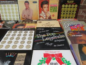 A COLLECTION OF ELVIS PRESLEY LP RECORD BOX SETS ETC. to include The Complete 50's Masters 6 album