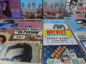 A COLLECTION OF BUDDY HOLLY LP RECORDS, comprising various Coral pressings to include Buddy Holly L