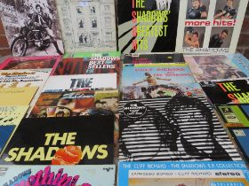 A COLLECTION OF THE SHADOWS LP RECORDS, to include Shades Of Rock, Specs Appeal and Somethin' Else,