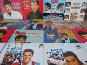 A COLLECTION OF LATE 20TH CENTURY / EARLY 21ST CENTURY ELVIS PRESLEY FILM SOUNDTRACK LP RECORDS, to