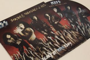 KISS - SMASHES, THRASHES & HITS, 15 years of 'Kisstory' gatefold picture disc