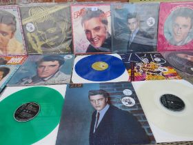 A COLLECTION OF ELVIS PRESLEY 50TH ANNIVERSARY LP RECORDS, to include Always On My Mind limited edi