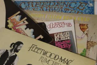 A COLLECTION OF ASSORTED LP RECORDS, various eras and artists to include David Bowie, Pink Floyd, T