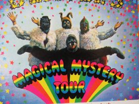 THREE BEATLES LP RECORDS, comprising Sgt Peppers Lonely Heart Club Band, Magical Mystery Tour inclu