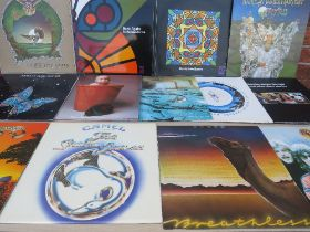 A COLLECTION OF BARCLAY JAMES HARVEST LP RECORDS, to include Gone To Earth, Once Again, Turn Of The