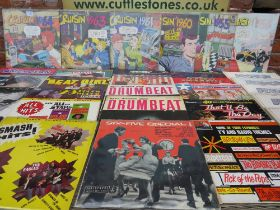 A SELECTION OF 1950S AND 1960S COMPILATION LP RECORDS ETC., to include Drumbeat, Six-Five Special a