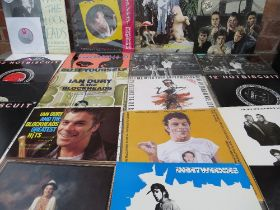 """A COLLECTION OF IAN DURY & THE BLOCKHEADS LP RECORDS AND 12"""" SINGLES, to include New Boots and Pant"""