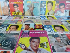 A COLLECTION OF ASSORTED ELVIS PRESLEY FILM SOUNDTRACK LP RECORDS ETC., to include an Italian press