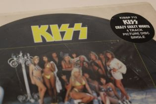 KISS - CRAZY CRAZY NIGHTS, four track picture disc single (KISSP712)