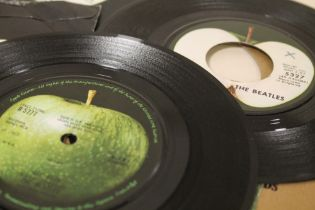 """A COLLECTION OF THE BEATLES RELATED 7"""" SINGLE 45 RPM RECORDS ETC., to include 45-X45086 She's A Wom"""