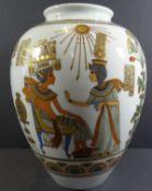 """gr. Vase """"Kaiser"""" Dekor Luxor, H-26 cm"""