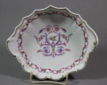 ovale Schale, Richard Ginori Italien, H-5cm, 21 x 17 cm.