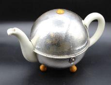 Teekanne mit Isoliermantel, Bauscher Weiden/WMF, D.R.P., H-17cm