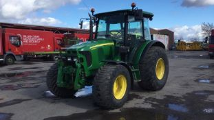 2012 John Deere 5090R 4wd Tractor, Front Linkage & PTO, Loader Bracket - Direct Council