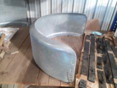 Small Steel HGV Mudgaurd (1 of)