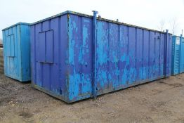 Secure Site Welfare Cabin / Portable Building with Generator