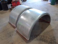 Large Steel HGV Mudgaurds (4 of)