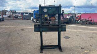 CKN Haycock 60 Ton Hydraulic Press