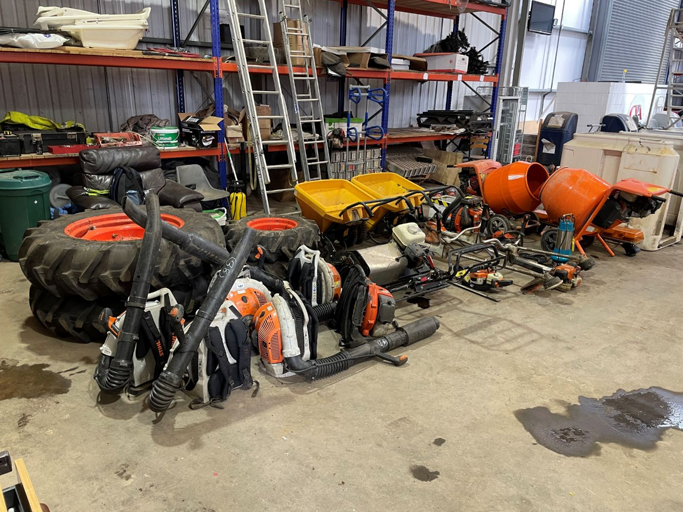Timed Auction of Groundcare Equipment, Contractors Plant & Other Sundry Equipment