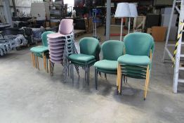 Mixed Office Chairs & Lamps