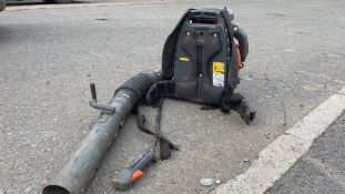 HUSQUARNA 570 BTS (YEAR 2017) PETROL LEAF BLOWER *NON-RUNNER - FOR SPARES OR REPAIR ONLY*