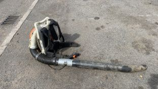 STIHL BR600 MAGNUM PETROL LEAF BLOWER *NON-RUNNER - FOR SPARES OR REPAIR ONLY*