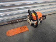 Stihl MS 180 Petrol Chain Saw