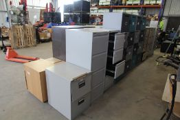 Assorted Filing Cabinets / Lockers / Drawers