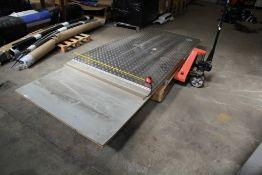 Stainless Steel Checker Plate & Door Blanks (1 Pallet)