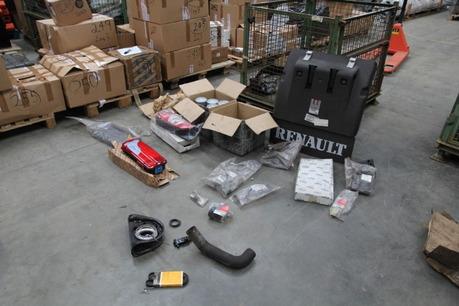 Truck & Trailer Spare Parts Auction *Unreserved*