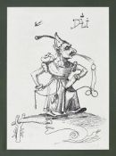Salvador Dali, 1904 – Figueres – 1989 , Les songes drolatiques de Pantagruel 73-7 J, 1973