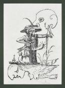 Salvador Dali, 1904 – Figueres – 1989 , Les songes drolatiques de Pantagruel 73-7 A, 1973