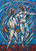 Eugeniusz Gerlach , Bieniawa 1941, Swordsmen – II / Szermierze – II, 2010