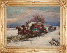 Gustav Prucha, 1875 – Wien – 1952 , Wedding party / Orszak weselny