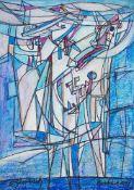 Eugeniusz Gerlach , Bieniawa 1941, Blue / Niebieski, 2017