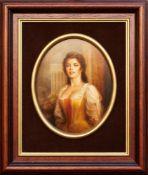 Kazimierz Cholewa , b.1948 , Lady - Rococo / Dama - Rokoko, 2005