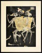 Jerzy Talik, ur.1954, Clowns / Pajace 2020