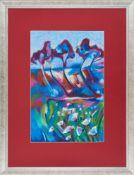 Wiktoria Zarębska , b.1998 , Garden of eden / Rajski ogród, 2017