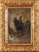 Michelon ,   , Gawrosh on a donkey / Gawrosz na ośle, 1881