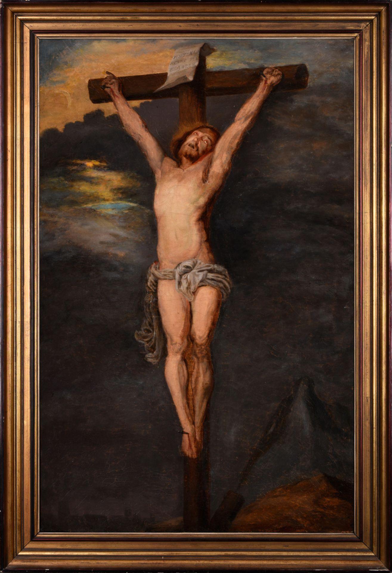 Indefinite author /  Autor nieokreślony , Crucifixion / Ukrzyżowanie, XVIII c.