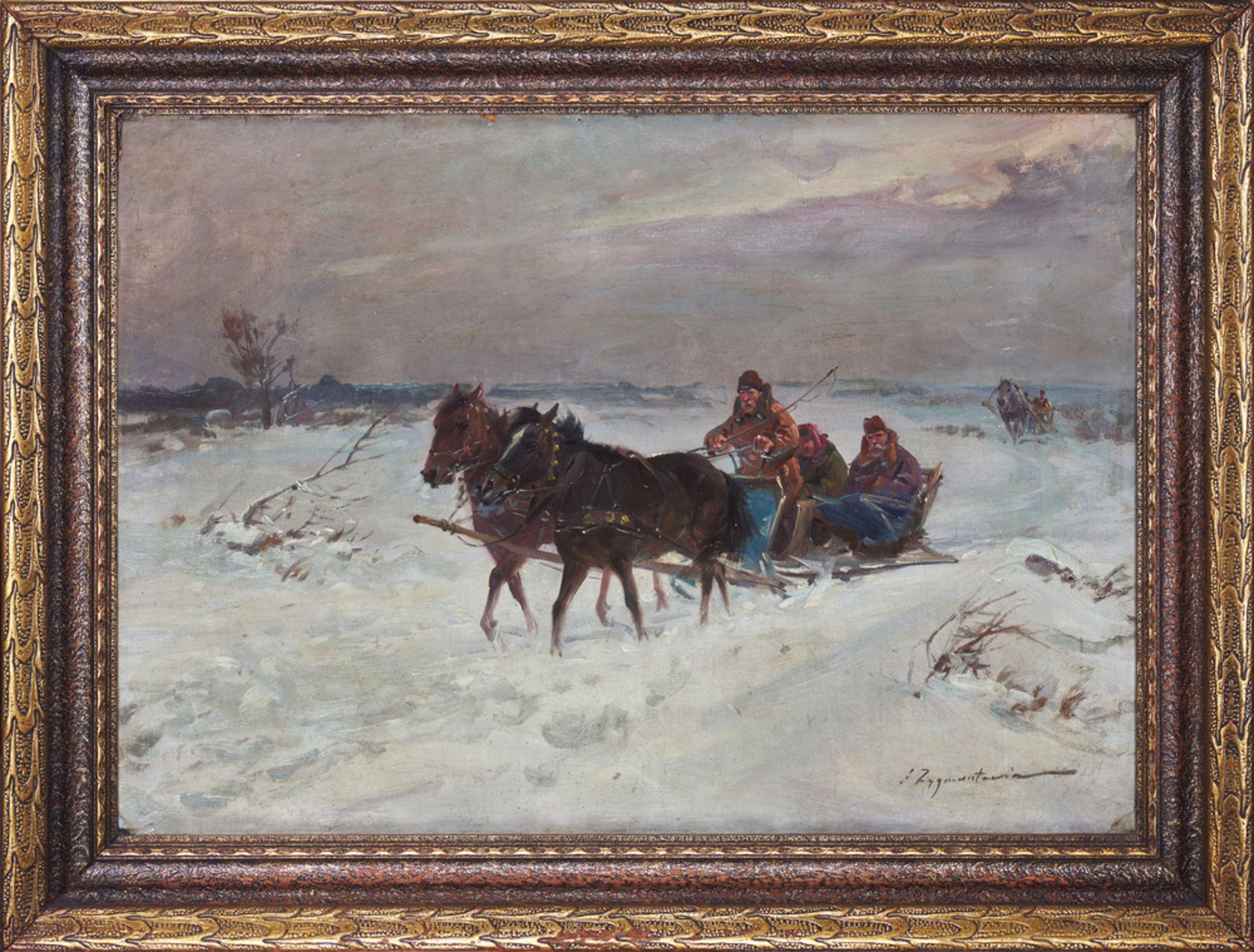 Czesław Wasilewski [Ignacy Zygmuntowicz] , Warszawa 1875-1947 Łódź , Sleight / Sanna