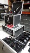 LOT - SHURE ULXD QUAD CHANNEL WIRELESS MICROPHONE SYSTEM (FREQUENCY H50 - 534-595), C/W: ULXD4Q QUAD