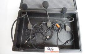 """UNITS - SENHEISSER ME3 HEADSET MICROPHONE FOR SENNHEISER WIRELESS BELTPACKS (1/8"""")"""