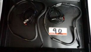 UNITS - DPA LAVALIER MICROPHONE INSTALLED ON SENNHEISER HEADSET FRAME FOR SHURE WIRELESS