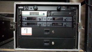 LOT - SENNHEISER EW IEM G4 QUAD CHANNEL WIRELESS IN-EAR MONITOR SYSTEM (FREQUENCY RANGE - G ), C/