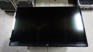 "UNITS - NEC E553/E554 55"" LED COMMERCIAL GRADE TV C/W CASE & CHIEF MOUNTING BRACKETS"