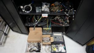 LOT - ASSORTED BNC, RCA, & ASSTD CONNECTORS