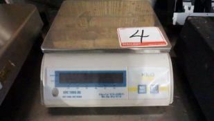 """KILO KPC2000-06 6KG X 2G 9.5"""" X 8.5"""" DIGITAL SCALE"""