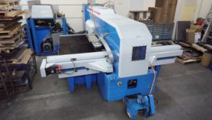 """FINN-POWER MODEL A5-20 FB TURRET PUNCH W/ APPROX. 50""""X80"""" BRUSH TABLE, 25-TON CAP, 20-STATION"""